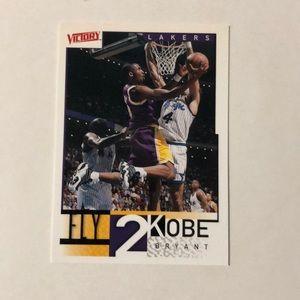 Official Fly 2 Kobe basket ball card #286
